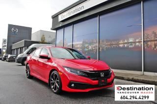 Used 2019 Honda Civic Sedan Sport - local, non smoker, like new condition! for sale in Vancouver, BC