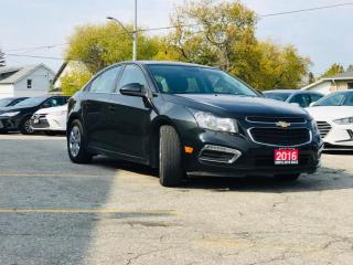 Used 2016 Chevrolet Cruze Limited 4dr Sdn LT w/1LT for sale in Barrie, ON