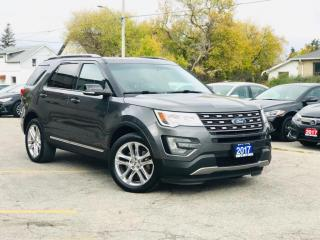 Used 2017 Ford Explorer 4WD 4dr XLT for sale in Barrie, ON