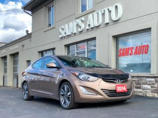 Used 2014 Hyundai Elantra 4dr Sdn Auto Limited for sale in Hamilton, ON