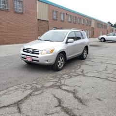 Used 2007 Toyota RAV4 4WD Limited CERTIFIED WARRANTY for sale in Richmond Hill, ON