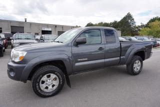 Used 2009 Toyota Tacoma 4WD 5Spd CERTIFIED 2YR WARRANTY *FREE ACCIDENT* CRUISE ALLOYS TOW HITCH for sale in Milton, ON