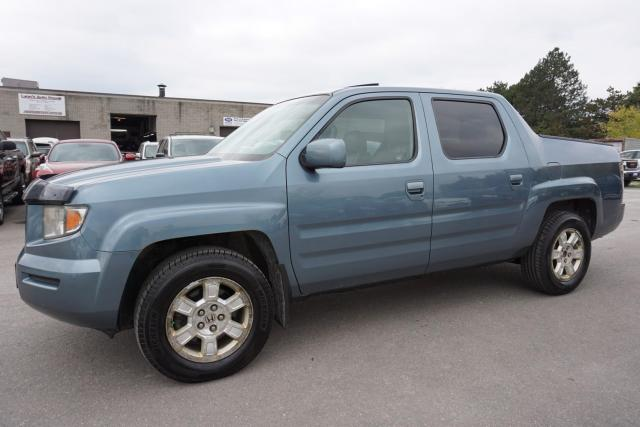 2008 Honda Ridgeline EX-L 4WD CERTIFIED 2YR WARRANTY *FREE ACCIDENT* SUNROOF HEATED LEATHER ALLOYS AUX