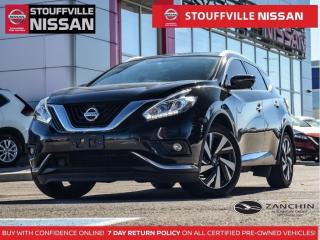 Used 2017 Nissan Murano Platinum  360 CAM  Leather  Cooled STS  20 Alloys for sale in Stouffville, ON