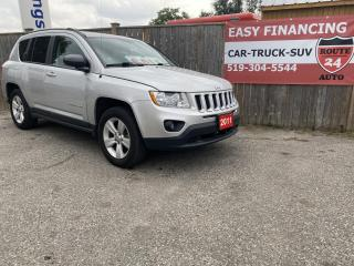 Used 2011 Jeep Compass Sport 4WD for sale in Brantford, ON