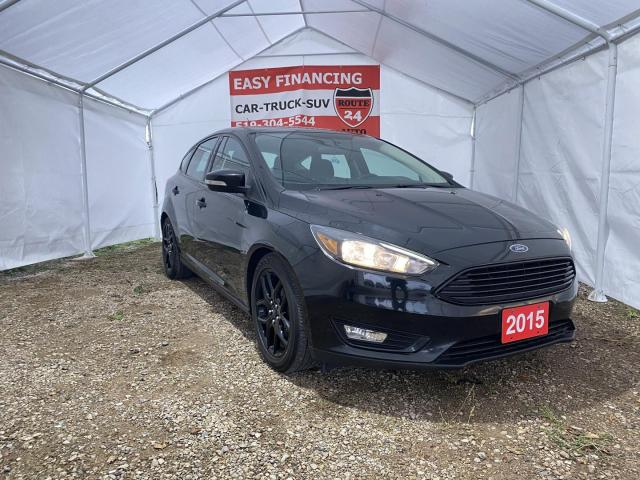 2015 Ford Focus SE Hatchback loaded, call/text 519-732-7478