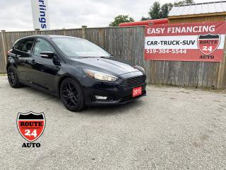 Used 2015 Ford Focus SE Hatchback loaded, call/text 519-732-7478 for sale in Brantford, ON