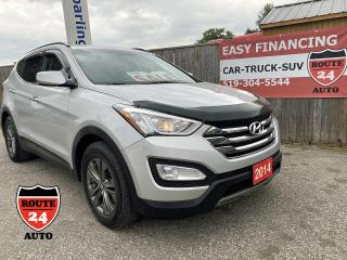 Used 2014 Hyundai Santa Fe Sport Sport Premium call/text 5197327478. Heated steering wheel, heated front and rear seats and much more. for sale in Brantford, ON