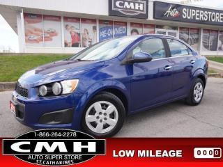 Used 2012 Chevrolet Sonic LT  BT PWR-GROUP CRUISE AUTO for sale in St. Catharines, ON