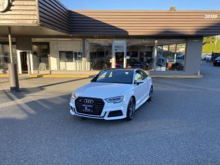 Used 2017 Audi S3 TECHNIK - QUATTRO for sale in Langley, BC