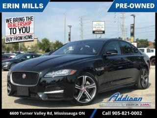 Used 2019 Jaguar XF 25t AWD R-Sport  NAVI|MERIDIAN|PANO ROOF| for sale in Mississauga, ON