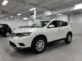 Used 2015 Nissan Rogue S - CAMERA + BLUETOOTH + CRUISE + JAMAIS ACCIDENTE for sale in St-Eustache, QC
