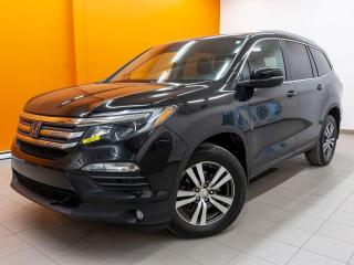 Used 2017 Honda Pilot EX-L AWD TOIT RÉG ADAPTATIF CUIR 8 PLACES *NAV* for sale in St-Jérôme, QC