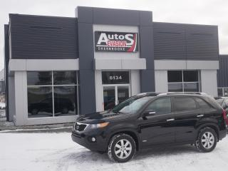 Used 2012 Kia Sorento LX V6 AWD + 7 PASSAGERS + INSPECTÉ + FREINS NEUFS for sale in Sherbrooke, QC
