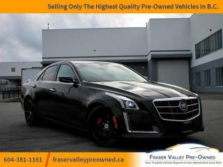 Used 2014 Cadillac CTS VSPORT RWD  - $276 B/W - Low Mileage for sale in Abbotsford, BC