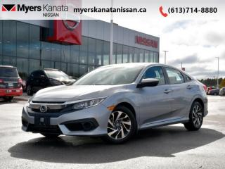 Used 2017 Honda Civic Sedan EX  - Sunroof -  Bluetooth - $126 B/W for sale in Kanata, ON