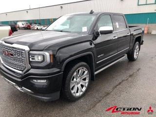 Used 2017 GMC Sierra 1500 DENALI 4WD Crew Cab+TOIT+CUIR+GPS+22+6.2L+GARANTI for sale in St-Hubert, QC