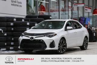 Used 2017 Toyota Corolla SE B PKG BASE MILEAGE! for sale in Lachine, QC