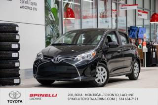 Used 2017 Toyota Yaris Hatchback LE TOYOTA CERTIFIE! for sale in Lachine, QC