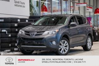 Used 2015 Toyota RAV4 Limited NAVI! JBL AUDIO! for sale in Lachine, QC