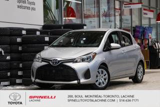 Used 2015 Toyota Yaris LE for sale in Lachine, QC