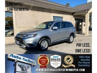 Used 2019 Mitsubishi Outlander ES* Awd/B.tooth/B.cam/Htd seats for sale in Winnipeg, MB