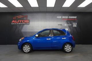 Used 2017 Nissan Micra S AUTOMATIQUE A/C BLUETOOTH 72 457 KM CERTIFIÉ !! for sale in Lévis, QC