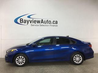 Used 2019 Kia Forte LX - AUTO! REVERSE CAM! PWR GROUP! + MORE! for sale in Belleville, ON