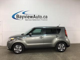 Used 2017 Kia Soul EV EV Luxury - ELECTRIC! HTD LEATHER! NAV! for sale in Belleville, ON