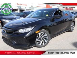 Used 2017 Honda Civic LX | Manual for sale in Whitby, ON