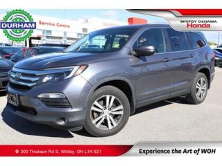 Used 2017 Honda Pilot w/Rear Entertainment System for sale in Whitby, ON