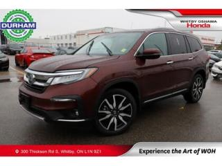 Used 2019 Honda Pilot 8 Passenger for sale in Whitby, ON