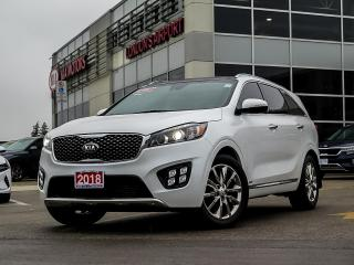 Used 2018 Kia Sorento SX Limited V6 AWD for sale in London, ON
