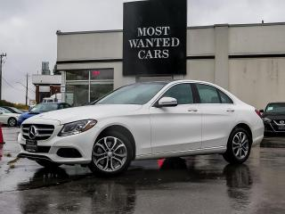 Used 2017 Mercedes-Benz C 300 4MATIC|BLIND|NAV|PADDLE SHIFTERS|DUAL SUNROOF|ALLOYS for sale in Kitchener, ON