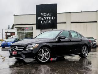Used 2017 Mercedes-Benz C 300 4MATIC|AMG|BLIND|NAV|PADDLE|DUAL SUNROOF|XENON|DUAL EXHAUST for sale in Kitchener, ON