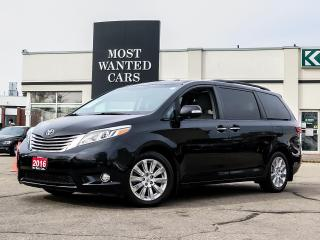 Used 2016 Toyota Sienna LIMITED|BLIND SPOT DETECTORS|NAV|SENSORS|FRONT+REAR SENSORS|XENON LIGHTS for sale in Kitchener, ON
