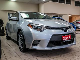 Used 2016 Toyota Corolla LE|CAMERA|TOUCHSCREEN|HEATED SEATS|BLUETOOTH for sale in Kitchener, ON