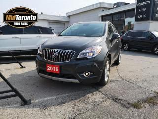 Used 2016 Buick Encore Convenience - AWD - Power Sun Roof - No Accidents - One Owner for sale in North York, ON