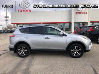 Used 2017 Toyota RAV4 AWD XLE  - Sunroof -  Heated Seats for sale in Steinbach, MB