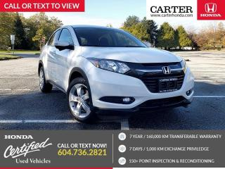 Used 2016 Honda HR-V EX SUNROOF + HONDA LANEWATCH CAMERA + BLUETOOTH for sale in Vancouver, BC
