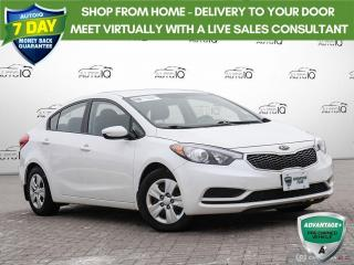 Used 2016 Kia Forte 1.8L LX LOW KILOMETERS for sale in Barrie, ON