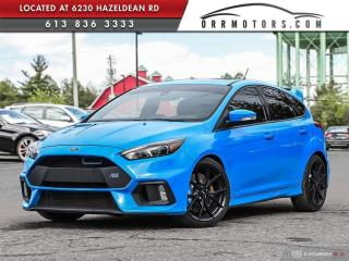Used 2016 Ford Focus RS RS AWD - INCREDIBLE CAR. for sale in Stittsville, ON
