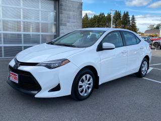 Used 2017 Toyota Corolla CE-A/C+REMOTE START! for sale in Cobourg, ON