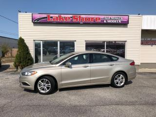 Used 2018 Ford Fusion SE BACK UP CAM for sale in Tilbury, ON