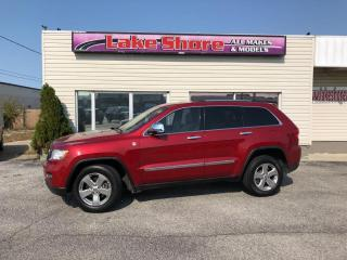 Used 2011 Jeep Grand Cherokee Limited PANORAMIC ROOF for sale in Tilbury, ON
