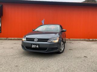 Used 2014 Volkswagen Jetta Sedan 4DR 1.8 TSI MAN COMFORTLINE for sale in Guelph, ON