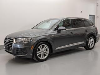 Used 2017 Audi Q7 TECHNIK/S LINE/DYNAMIC PKG/MASSAGE SEATS/HEADS-UP! for sale in Toronto, ON