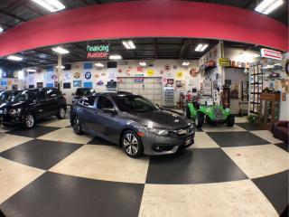 Used 2016 Honda Civic Sedan EX-T AUT0 A/C SUNROOF BACKUP CAMERA 125K for sale in North York, ON