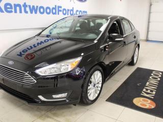 Used 2016 Ford Focus Titanium | 4 Door | Leather | Great on Fuel! for sale in Edmonton, AB