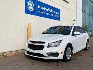 Used 2016 Chevrolet Cruze Limited LT LIMTED - BACKUP CAM / PWR PKG for sale in Edmonton, AB